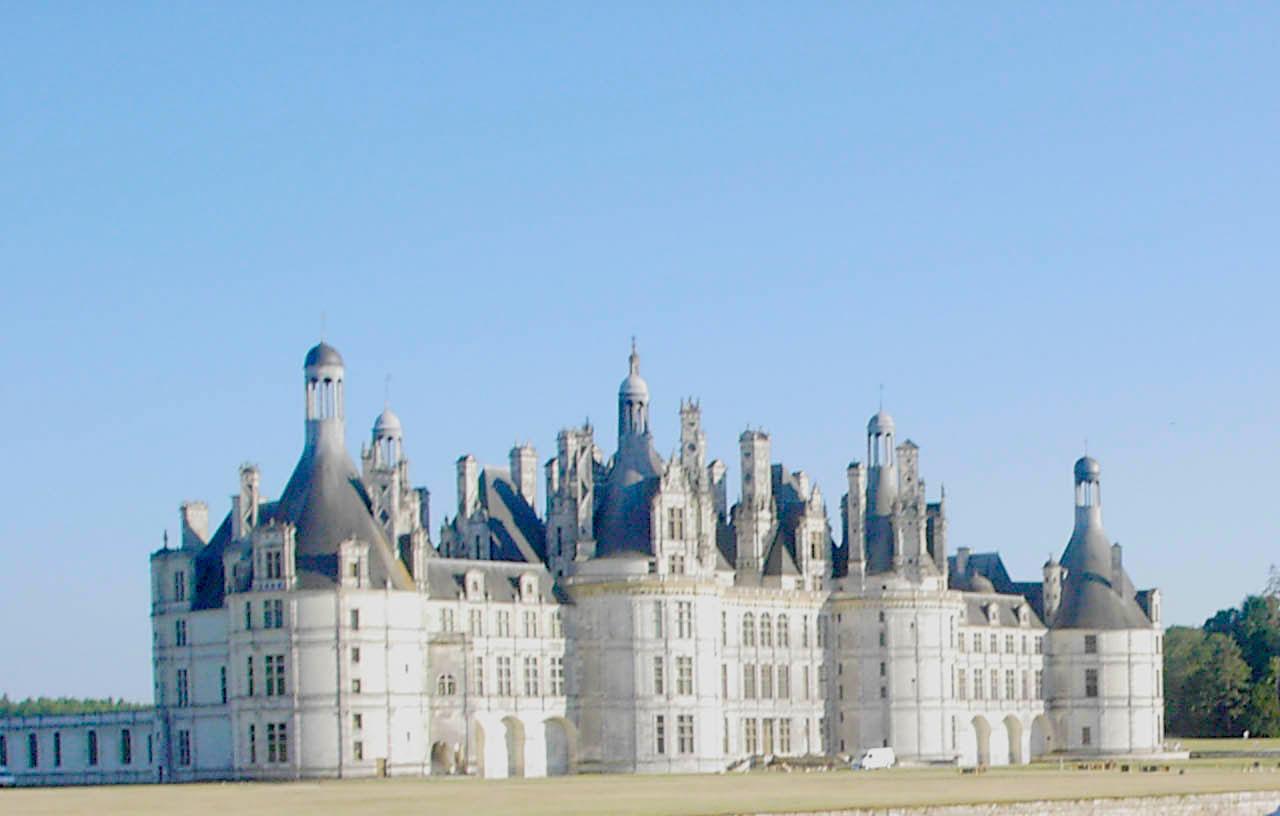 Visiter la château de Chambord