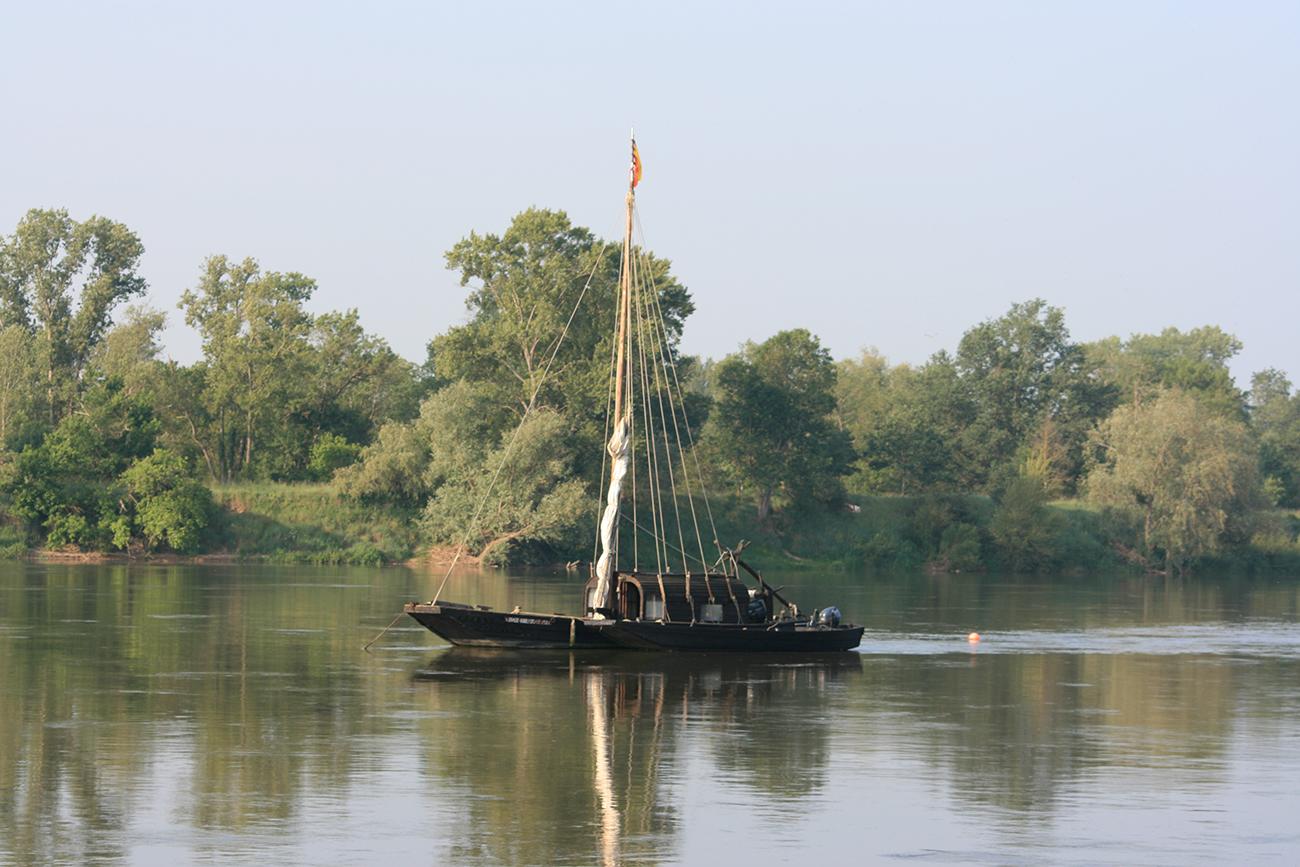 La Loire et ses gabares...
